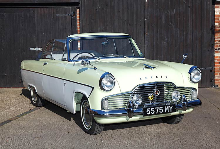 1961 Ford Zephyr MKII Convertible