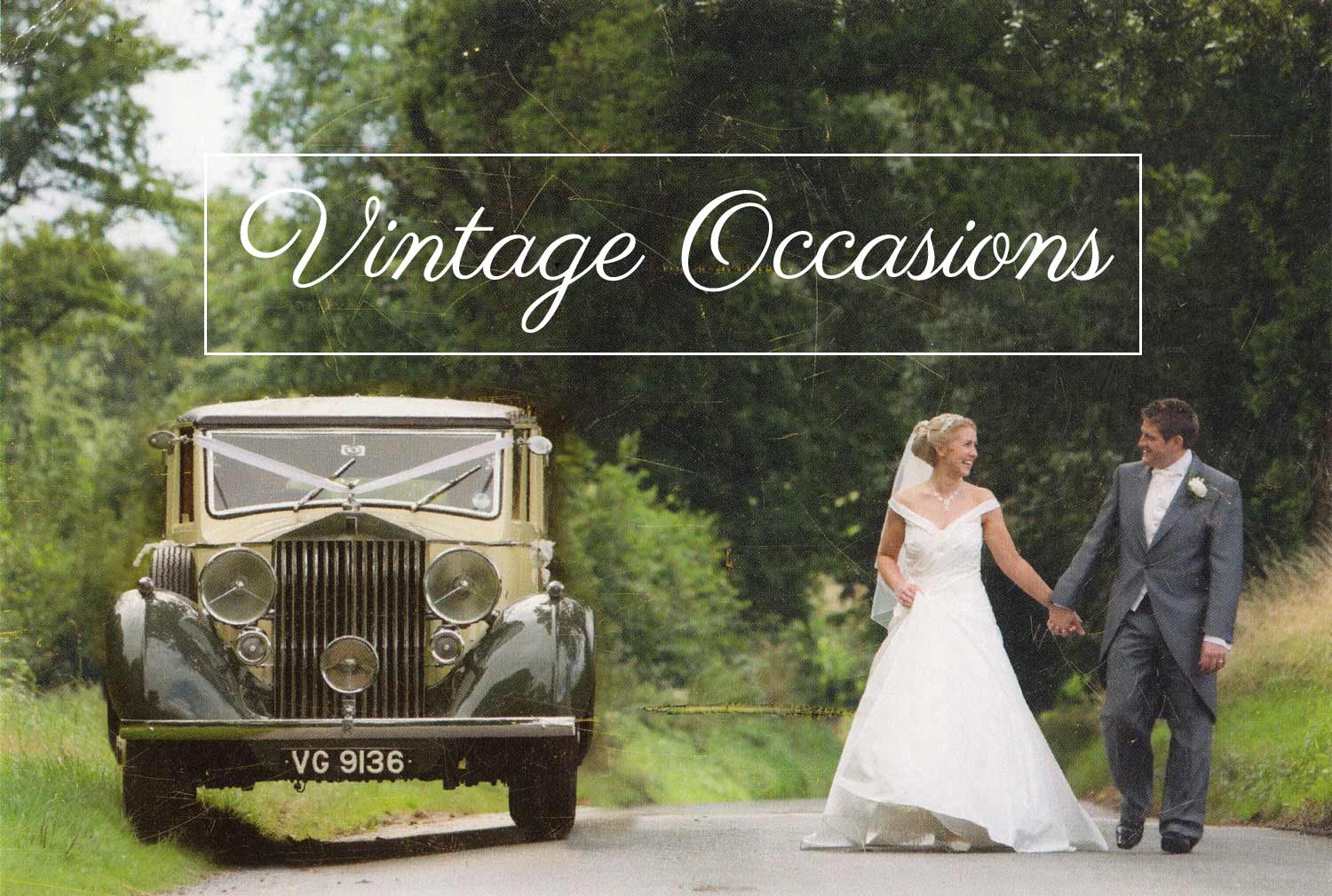 Vintage Occasions Wedding Cars